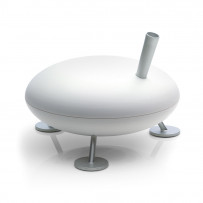 Hot steam humidifier FRED White