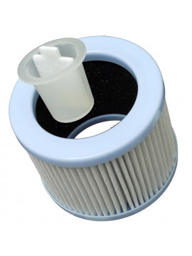 Particle and activated carbon filter for Buldair