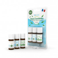 The 3 essential oil synergy pack (3X10mL).