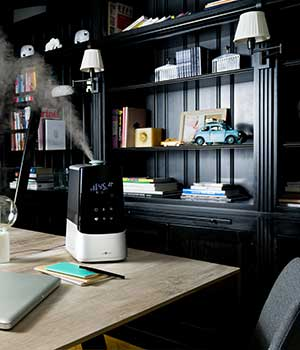 Air humidifier for medium room